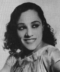 Photograph of Blanche Calloway.