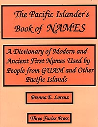 Cover of The Pacific Islander's Book of Names.