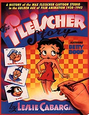 Cover of Leslie Cabarga's book, The Fleischer Story.