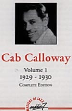 Cover of  the Cab Calloway CD.
