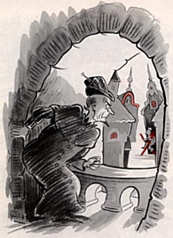 Drawing of Droon by Dr. Seuss.