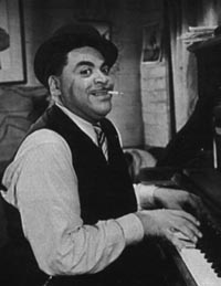 Photograph of Fats Waller by Michael Lipskin.