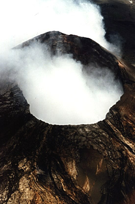 Photo of active vent on Kilauea.