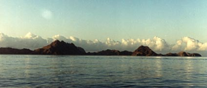 Photograph of Komodo Island.