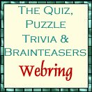 The Quiz, Puzzle, Trivia and Brainteasers Webring