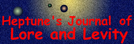 Logo for Heptune's Journal of Lore and Levity