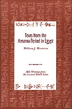 The cover of Texts from the Amarna Period.