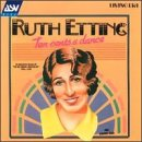 Photo of Ruth Etting CD cover.